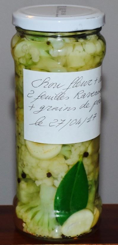 Astuce mettre une étiquette sur votre bocal avec la liste des ingrédients et la date.