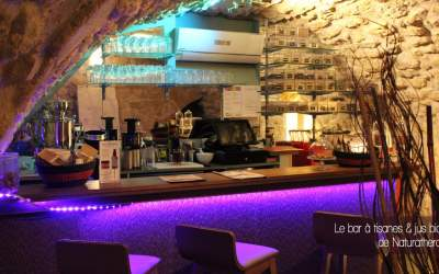 Naturathera, herboristerie & bar à tisanes