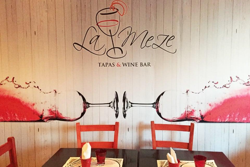 Séjour à Zante, Restaurant-La-meze-Tsilivi-il-etait-une-veggie