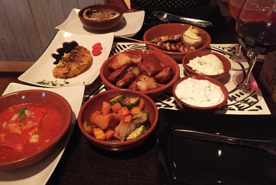 Sejour à Zante, Restaurant-La-meze-Tsilivi-il-etait-une-veggie