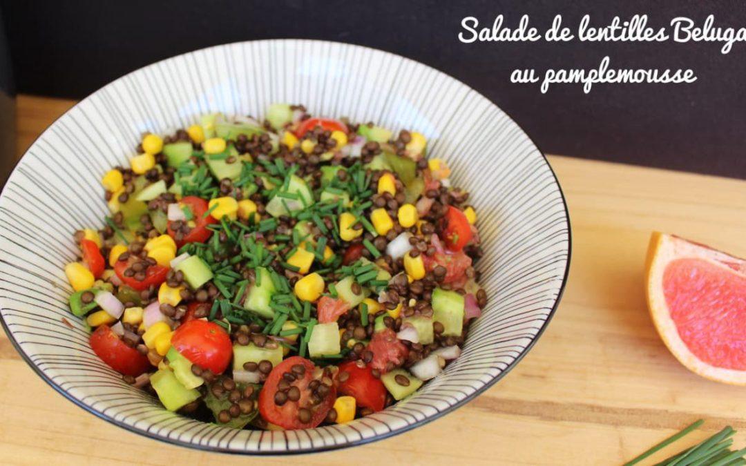 Mes salades veggies #1 : Salade de lentilles beluga
