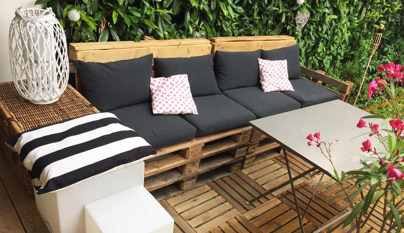 Diy Deco Salon De Jardin En Palettes Rapide Facile Iletaituneveggie Com