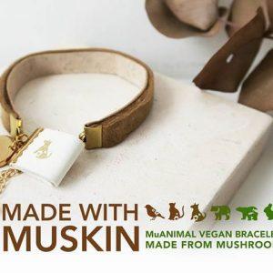 Cuir vegan Muskin cuir de champignon