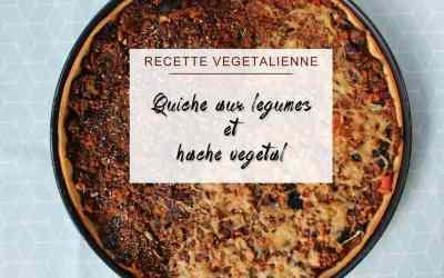 Mes plats veggies #2 : Quiche vegane aux légumes