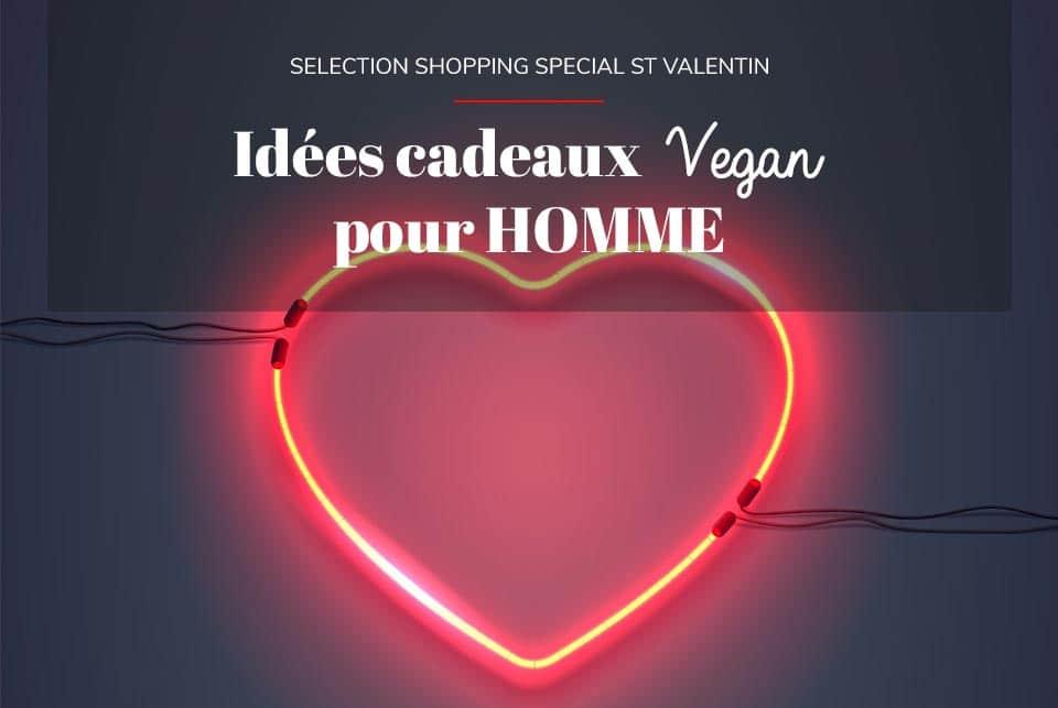 Idées cadeaux vegan & écolo pour Homme spécial St Valentin 💚
