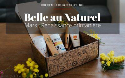 Revue de la Box beauté Belle au Naturel «Renaissance printanière» (Code promo)