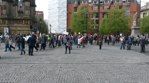 Manchester Science March