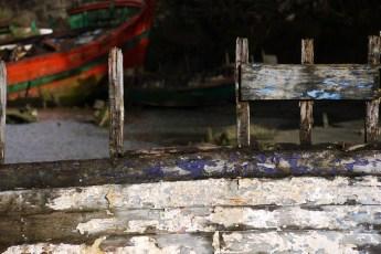 Cimetière de bateaux du Bono