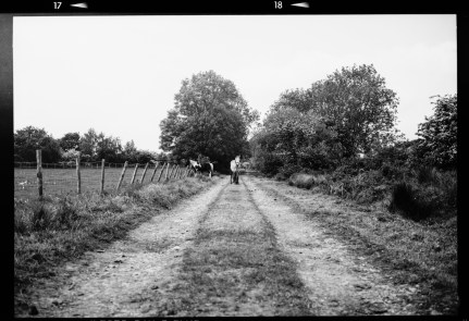 Black and white photograph shot on Ilford film by Henry Woodley