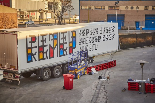 Remed Truck Art Project