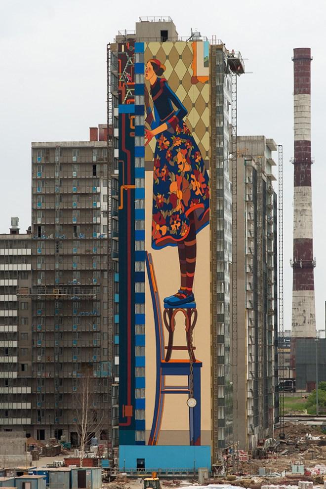 Alexey Kislow Roman Muratkin Street Art Saint Petersburg