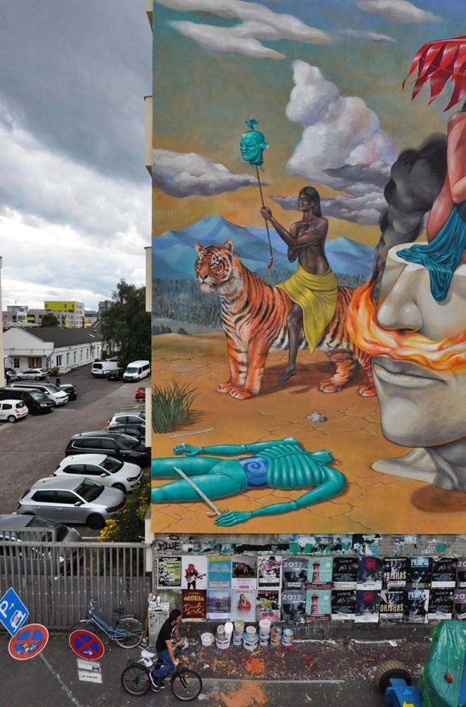 Interesni Kazki AEC Street Art Cologne CityLeaks Festival