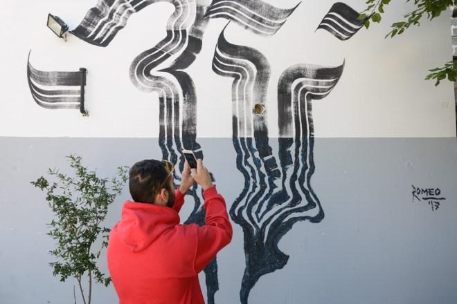 Domenico Romeo Street Art Racale Viavai Project