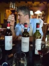 Avgustin Devetak in degustazione (special thanks to Bussia Soprana Winery)