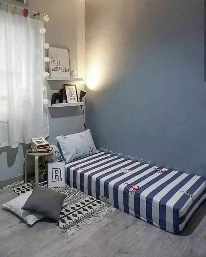 Deko Single Deco Bilik Tidur Kecil Simple