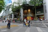 In front of ION mall