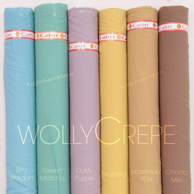 bahan wollycrepe