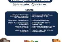 Vacina antirrábica em Ilhéus