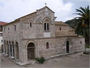 Το καθολικό της Ιεράς Μονής Παναγιάς Βλαχέρνας στον οικισμό της Κάτω Παναγιάς της Κυλλήνης
