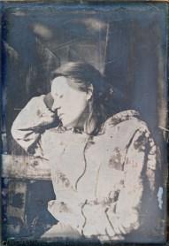 sister portrait, 10x15cm daguerreotype