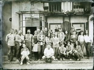 Caffe Kula Ambrotype, 18x24cm, Belgrade