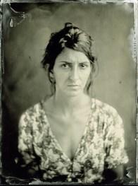 Marija portrait, Ambrotype, 18x24cm