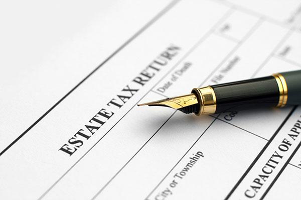 Estate tax preparation by Gregg T. Iliceto