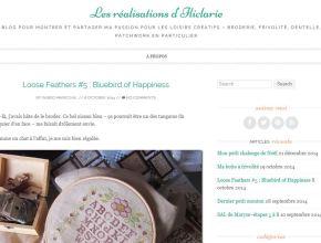 mon blog créatif sur wordpress