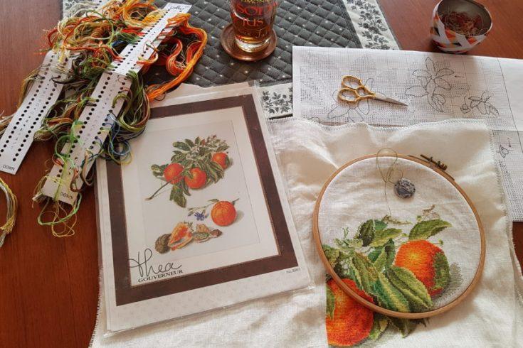 Kit Oranges et coquillages