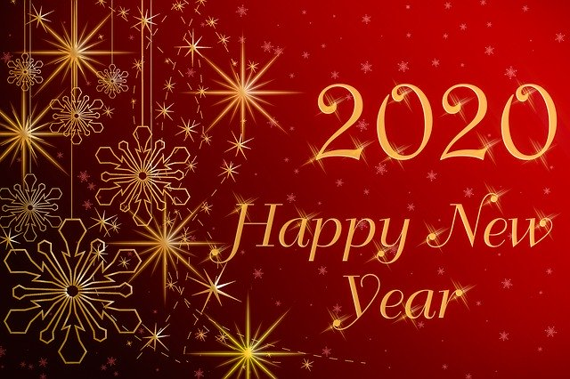 Happy new year - Image par Image par Adalhelma de Pixabay