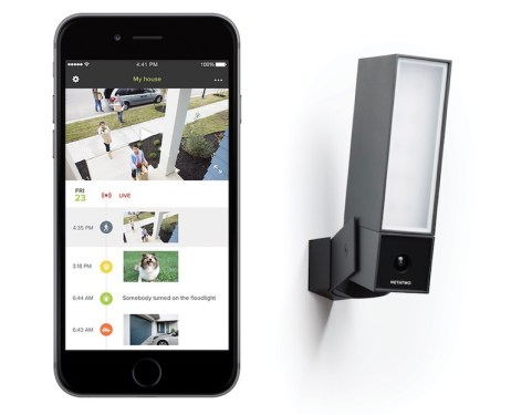 Presence Netatmo et application mobile