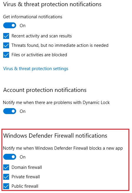 Windows 10 Disable Firewall Notifications, disable firewall notifications, how to disable firewall windows 10