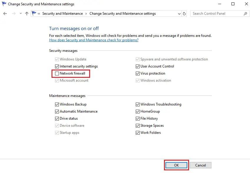 windows 10 suppress firewall notifications,disable notifications,suppress windows firewall notification