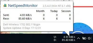bandwidth monitor windows 10, taskbar bandwidth monitor, windows bandwidth monitor