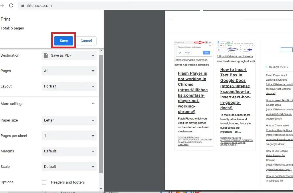 how to save web page as pdf, webpage as pdf,convert webpage as pdf