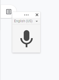 voice typing icon