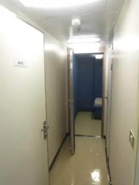 Cruise Ship Jail Corridor