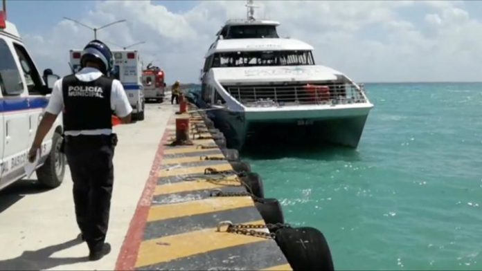 Playa Del Carmen Ferry blast