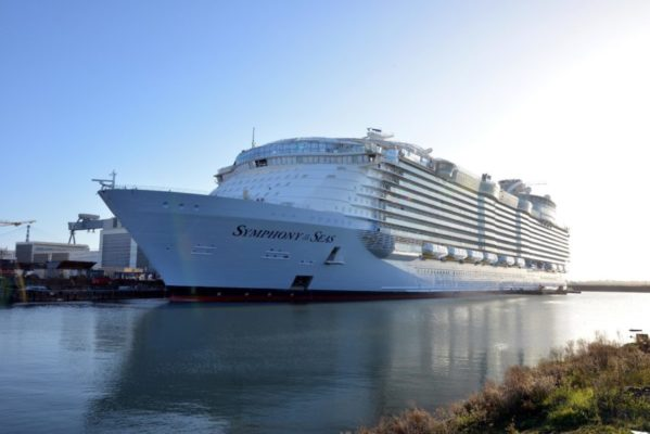 largest cruise ship France