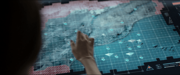 Map UI - Oblivion