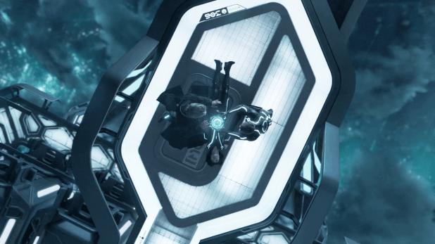 Hologram UI - Tron Legacy
