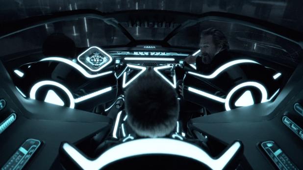 Cockpit UI - Tron Legacy