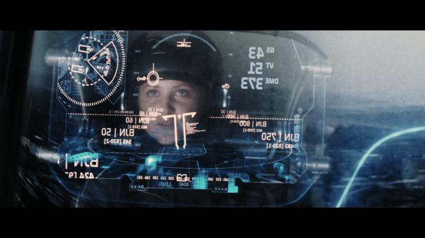 Ship HUD UI - Minority Report