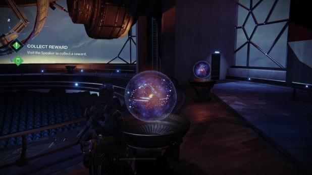 Diegetic UI (Hologram) - Destiny
