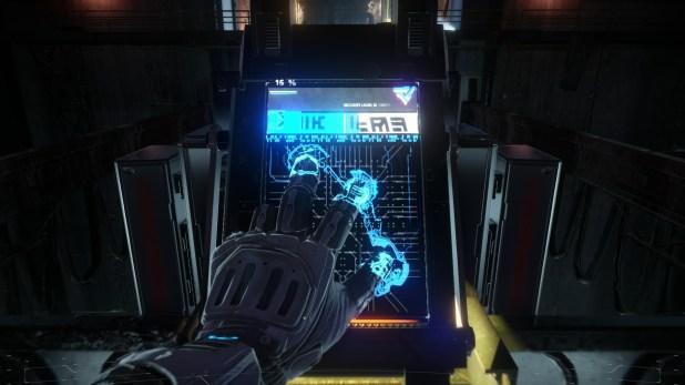Killzone Shadow Fall - Hacking UI