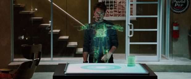 Spatial Gestural UI - Iron Man 1
