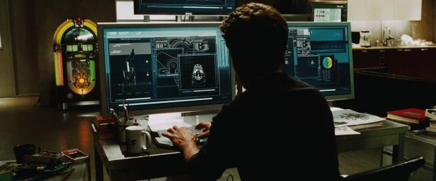 Control Panel UI - Iron Man 1