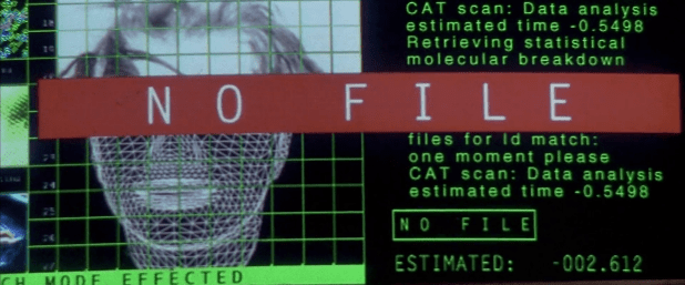 Scan and Recognition UI - The Fifth Element