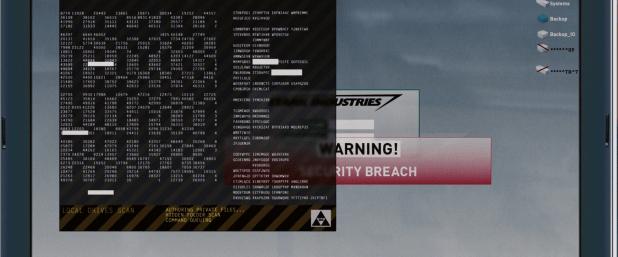 Hacking UI - Iron Man 1