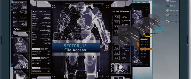 Schematic UI - Iron Man 1